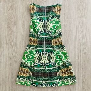 Alice + Olivia Dresses - Alice + Olivia Carrie Garden Dress Sleeveless 4